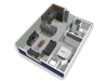 The Falcon studio apartment floor plan with polished concrete flooring