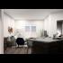Rendering of 1 Bedroom A Living Area