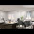 Rendering of 1 Bedroom B Living Area