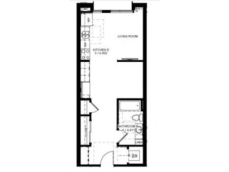 Floor Plan 6 | Apartments In Denver | Tennyson Place 1