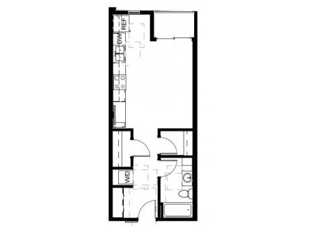 Floor Plan 10 | Apartments For Rent In Denver | Tennyson Place 1