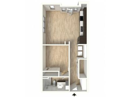 Floor Plan 14 | Denver Colorado Apartments | Tennyson Place 2