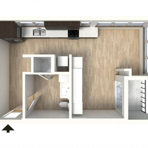 Floor Plan 8 | Apartments In Denver Colorado | Tennyson Place 2