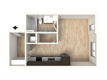 Floor Plan 9 | Denver Colorado Apartments | Tennyson Place 2