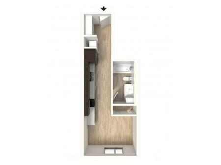 Floor Plan 11 | Apartments In Denver | Tennyson Place 2