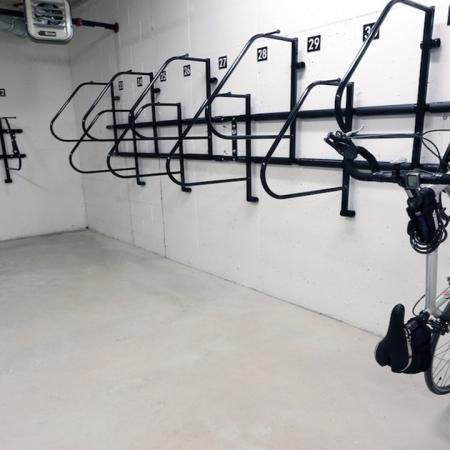 Resident Bike Storage Room | Modera 44