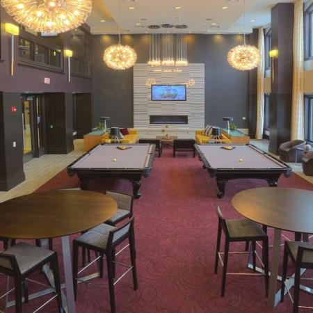Billiards Tables in our Resident Lounge | Modera 44