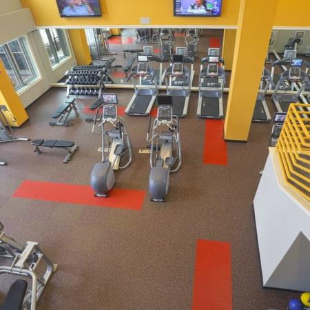 24-Hour Fitness Center with Cardio Machines | Modera 44