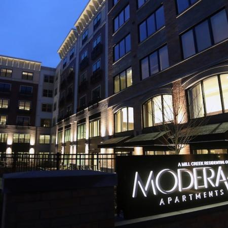 Modera 44 Monument Sign and Community Exterior | Modera 44