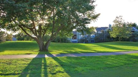 View of Golf Course from Apartment Home | Alister Town Center Columbia