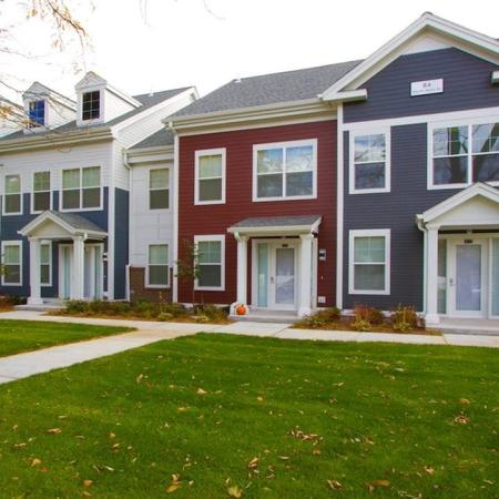 Townhome-Style Apartment Homes Available | Modera Natick Center