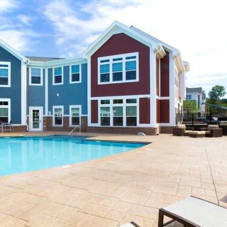 Resort-Style Pool and Sundeck | Modera Natick Center