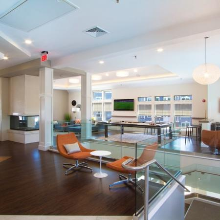 Second-Story of Clubhouse | Modera Natick Center