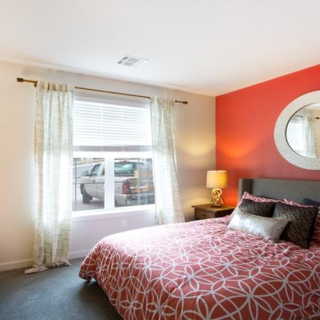 Bedrooms with Large Windows | Modera Natick Center