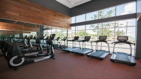 Treadmills and Elliptical Machines | Modera Morningside