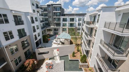 Central Courtyard | Modera Morningside