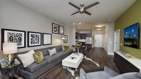 Open Living Room | Modera Morningside