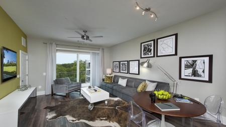Apartment Living Room and Dining Area | Modera Morningside