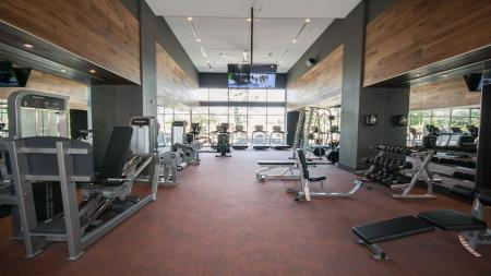 Fitness Center with Weight Machines and Treadmills | Modera Morningside