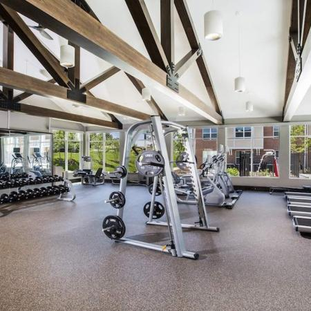 Fitness Center with Weight Machines and Treadmills | Modera Westsdie