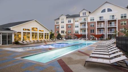 Resort-Inspired Pool and Sun Deck   Modera Westside