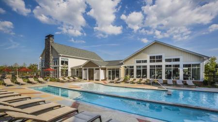 Lap Pool and Resort-Style Pool   Modera Westside