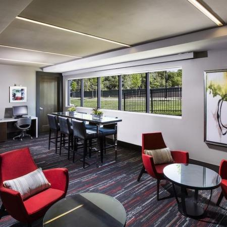 Business Center with Computer Stations | Modera Westside