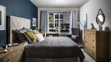 Large Bedroom with Pool View   Modera Westside