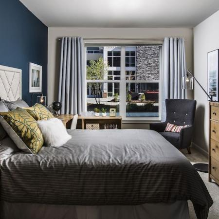 Large Bedroom with Pool View | Modera Westside