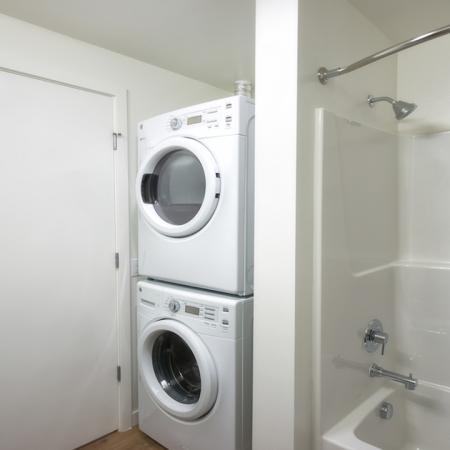 Washer and Dryer in Every Apartment | Modera Capitol Hill