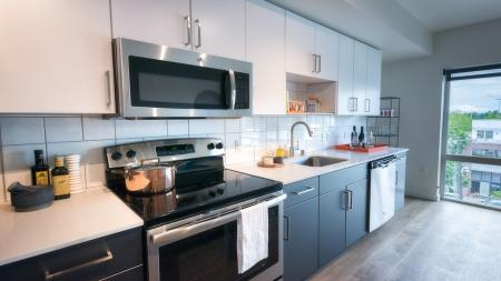 Modern Kitchens in Apartments in Seattle, WA | Modera Capitol Hill