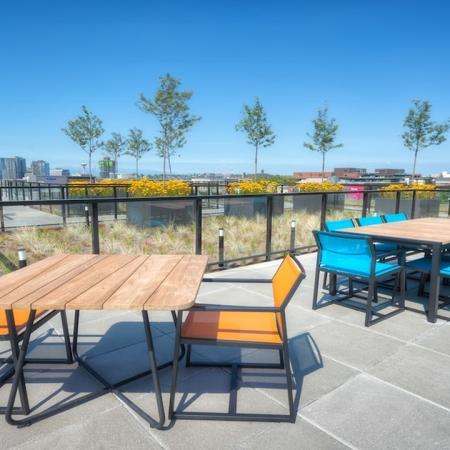 Rooftop Deck Overlooking Seattle | Modera Capitol Hill