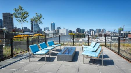 Rooftop Deck Apartments in Seattle, WA | Modera Capitol Hill