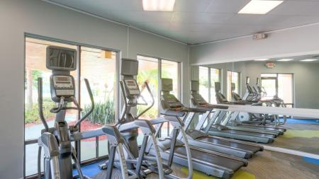 Brand New Fitness Center with Cardio Machines | Alister Boca Raton