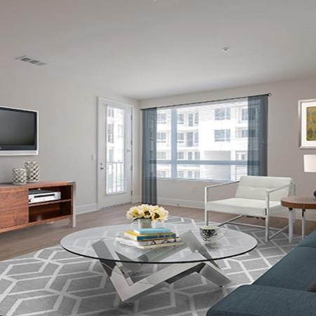 Spacious Living Spaces with Tall Ceilings | Modera Glendale