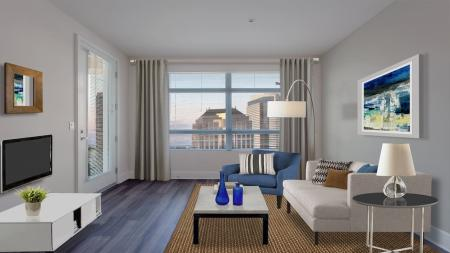 Elegant Living Room | Apartments for rent in Glendale, CA | Modera Glendale