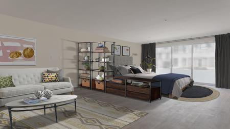 Spacious Living Room | Apartments in Glendale, CA | Modera Glendale