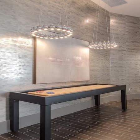 Shuffleboard in Resident Game Area | Modera Glendale