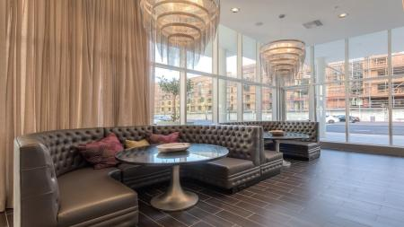 Resident Study Lounge | Apartment Homes in Glendale, CA | Modera Glendale