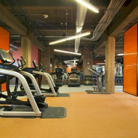 Apartment Gym | Apartment Homes in Jersey City, NJ | Modera Lofts