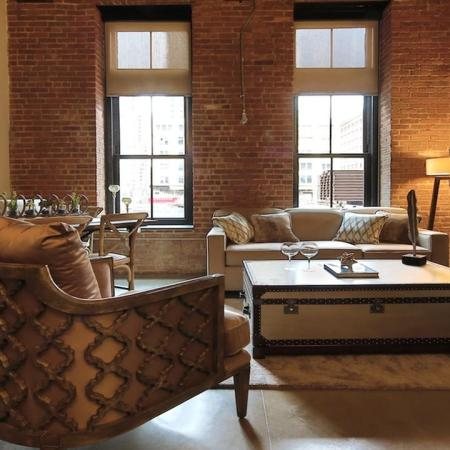 Spacious Living Area | Apartments in Jersey City, NJ | Modera Lofts