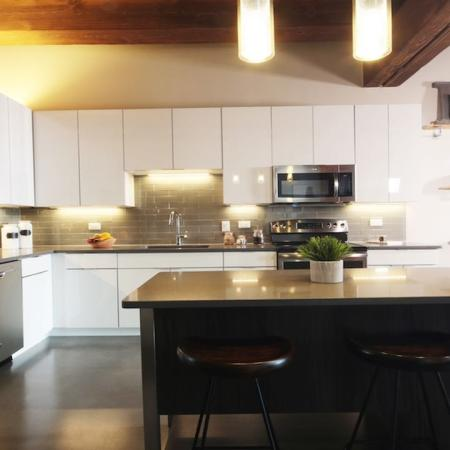 Modern Kitchen | Jersey City NJ Apartment For Rent | Modera Lofts