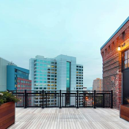 Unique Rooftop Deck | Apartments in Jersey City, NJ | Modera Lofts