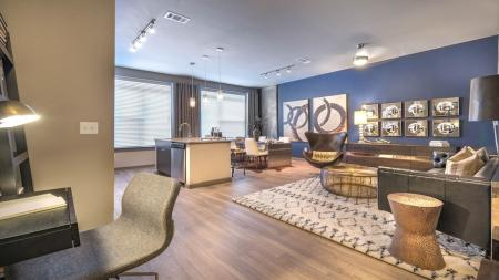 Spacious Living Areas in our Apartment Homes | Modera Flats