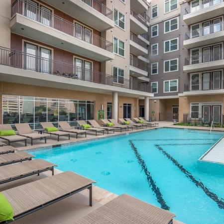 Resort Style Pool | Apartments in Houston, TX | Modera Flats