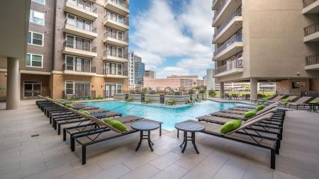 Sparkling Pool | Modera Flats