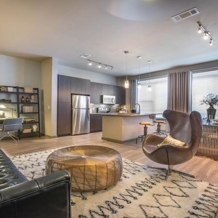 Spacious Living Room | Apartments in Houston, TX | Modera Flats