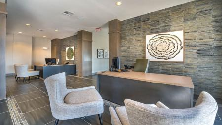 Lobby and Leasing Center | Modera Flats