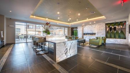 Elegant Social Lounge and Clubhouse | Modera Flats