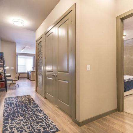 Spacious Hallway | Apartments in Houston, TX | Modera Flats